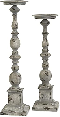 Imax 74182-2 Hamilton Candleholders Set of 2 Candle Stand