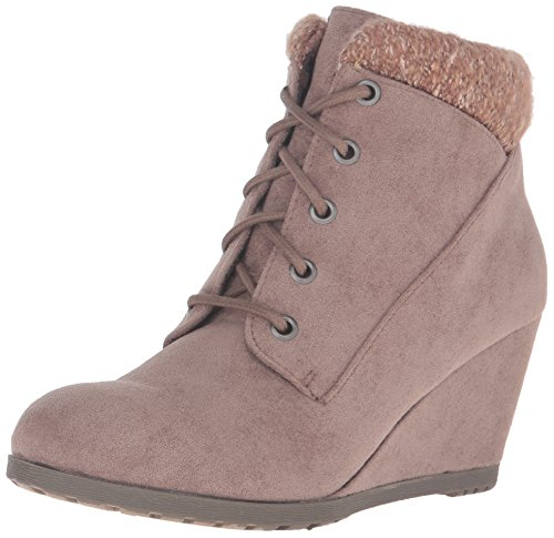 Lined Suede Wedges - 3