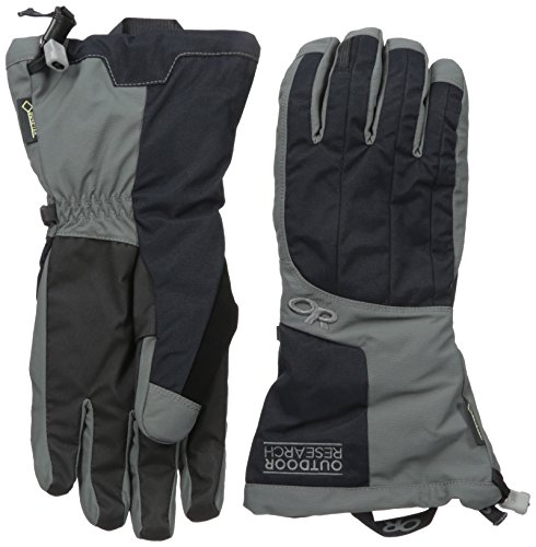 Outdoor Research Men's Arete Gloves, Black/Charcoal, Large by Outdoor Research