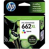 Cartucho de Tinta 662XL 3 Cores, HP