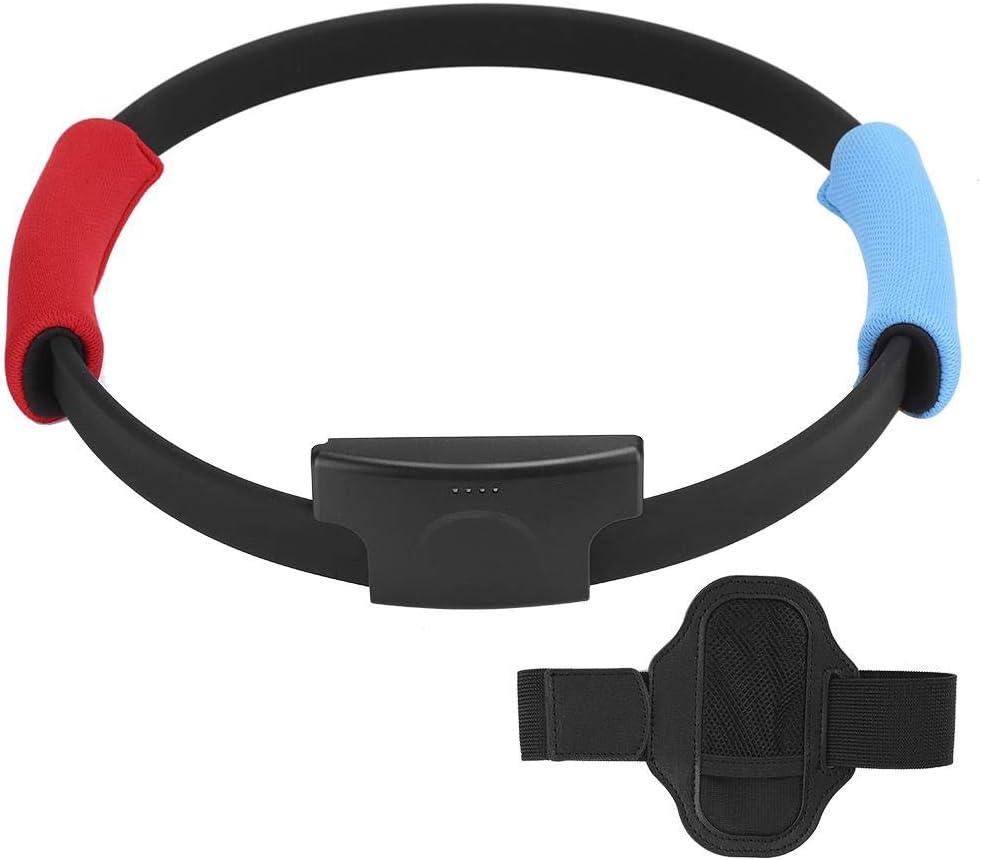 ASHATA Ring con y Correa para la Pierna para Switch Ring Fit Adventure Game, Fitness Fit Ring Adventure Game Sports Band Correa para Switch Joy-con, Body Sensor Sports, Joy con Controllers: Amazon.es: