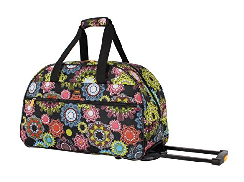 lucas-luggage-22-inch-printed-rolling-carry-on-suitcase-wheeled-duffel-22in-charming
