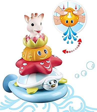 Jouet de bain Splash and Surf Pyramide Vulli Fresh Touch Sophie la Girafe