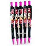 Disney Minnie Mouse 5 Retractable Pens Pack
