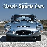 Sports Cars Calendar - Classic Sports Cars Calendar- Calendars 2018 - 2019 Wall Calendars - Car Calendar - Automobile Calendar - Classic Sports Cars 16 Month Wall Calendar by Avonside