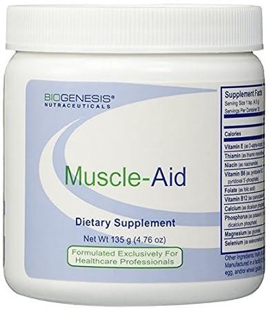 BioGenesis Muscle-aid Fine Powder, Orange, 135 Gram by Biogenesis