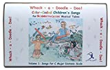 Whack-a-Doodle-Doo! Color-Coded Children's Songs for Boomwhackers Musical Tubes Volume 1 Songs for C Major Diatonic Scale