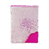 Style.Lab by Fashion Angels Magic Sequin Journal - Iridescent to Pink