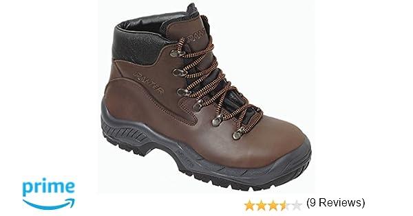 Panter 3260 Plus - Calzado de seguridad, color marrón, talla 43: Amazon.es: Bricolaje y herramientas