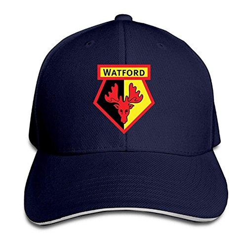 GlyndaHoa Watford F.C. Logo Baseball Caps Mens Snapback Hip Hop Flat Hat
