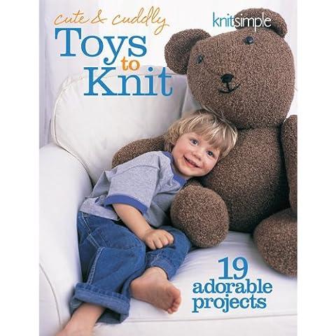 Soho Publishing Cute and Cuddly Toys to Knit Book (Soho Publishing)