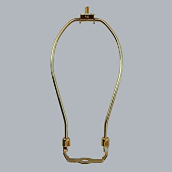 ONEPRE 6 Inch Heavy Duty Lamp Harp Fitter For Lamp Shades, Antique ...