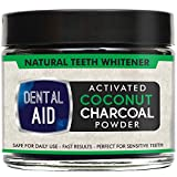 Image of Natural Teeth Whitening Charcoal Powder - Made in USA with Coconut Activated Charcoal and Baking Soda for Safe Effective Tooth Whitening.