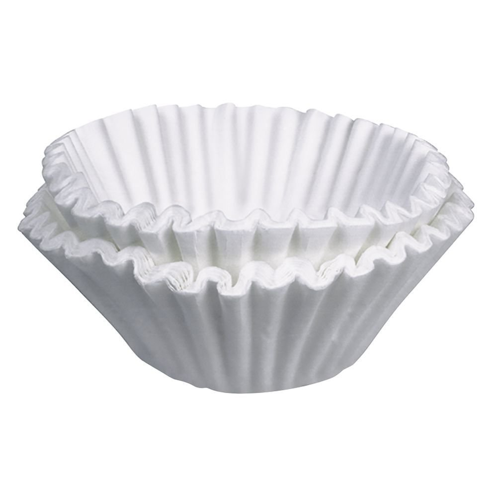 "Bunn White Paper Coffee Filters - 9 3/4""Dia"