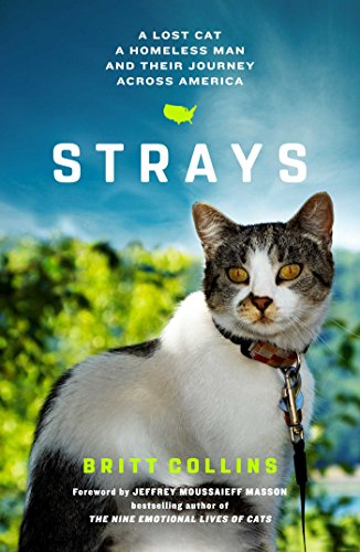 Book Cover: Strays: A Lost Cat, a Drifter, and Their Journey Across America