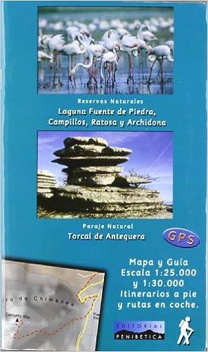 Descarga gratuita de libros en línea. Mapa laguna fuente de piedra, campillos, ratosa y archidona PDB 8493346152