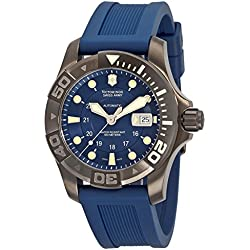 Victorinox Swiss Army Men's 241425 Dive Master 500 Black Ice Blue Dial Watch