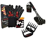 Grillin Chill Gear Meat Claws (Meat Claws+Grill Brush+Grill Gloves Combo)