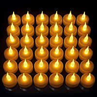Vont 24 Pack Flameless LED Tea Light Candles, Realistic &...