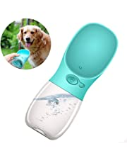 Dog Water Bottle, Leak Proof Drinking Bottle, Portable Pet Travel Water Drink Cup Bowl Dispenser, Safe Durable Small Cat Dog Pet Outdoor Playing, Walking, Hiking, Travelling - 12oz
