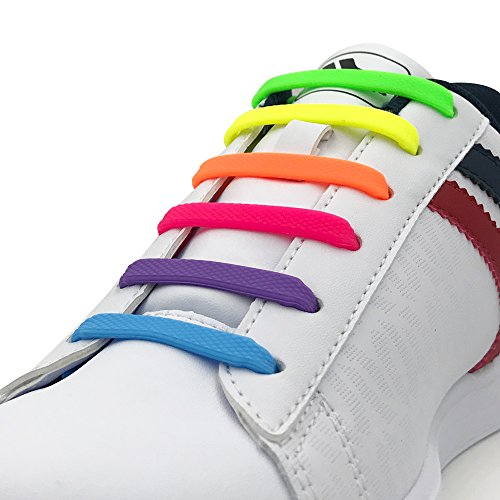 EASY ON EASY OFF No-Tie Silicone Shoelace for Kids and Adults UPDATE VERSION – DiZiSports Store