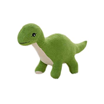 Simulación Animales de peluche dinosaurios y juguetes de peluche para niños (45cm dinosaurio verde)