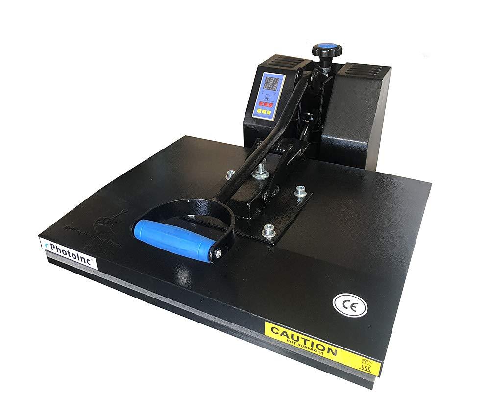 ePhotoInc 16' x 20' Digital Clamshell Heat Press Transfer T-Shirt Sublimation Press Machine ZP1620