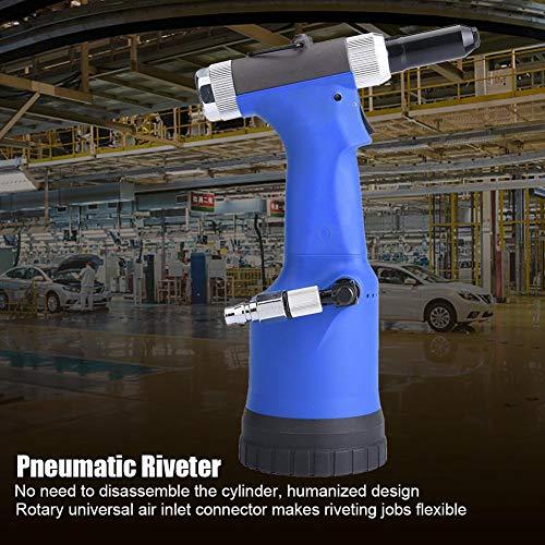 Pneumatic Riveter, KP-708/708X Hydraulic RiveterGun Riveting Tool for Rivets 3.2/4.0/4.8/6.4mm (KP-708) by Semme (Image #8)