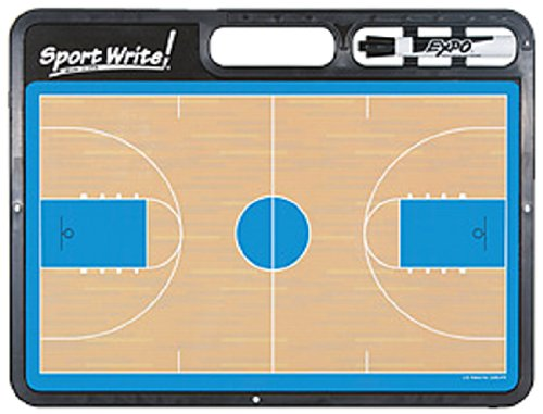 Sport Write Pro Basketball Dry-Erase Board (with half-court ()