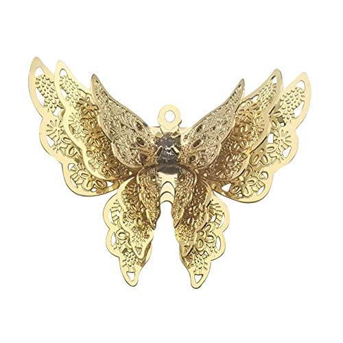 Youdiyla 85 pcs Antique Silver Antique Bronze Mixed Bee Charms for Jewellery Making DIY Necklace Bracelet WM008