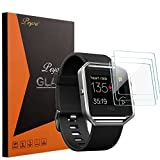 Fitbit Blaze Screen Protector - Peyou® [3-Pack] [Premium Tempered Glass] [High Quality 9H] Screen Protector Perfect for Fitbit Blaze Fitness Watch 2016 Release