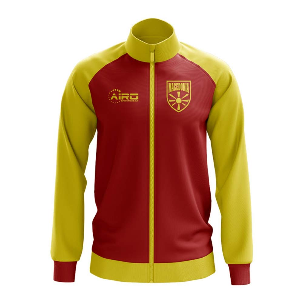 Airo Sportswear Macedonia Concept Football Track Jacket (ROT)