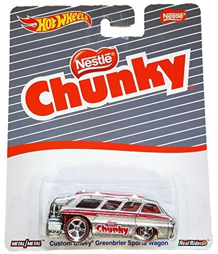 Hot Wheels - Nestle Chunky - Custom Chevy Greenbrier Sports Wagon