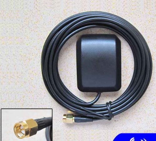 Xtenzi GPS Antenna for Power Acoustik Audio System Navigation NAVIBOX-1 NAVIBOX-2 PD-931NBT PD-622NB PD-718NB PD-718NBT PD-740NB PLDNV596 PLDNV78i PLBT72G