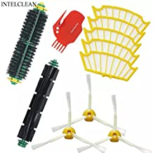 VCPS(TM) Kit for Irobot Roomba 500 530 550 560 Series Vacuum Cleaner Kit-Includes 5 Pcs Filter 3 Pcs Side Brush 1 Pair Bristle Brush and Flexible Beater Brush 1 Pc Cleaning Tool