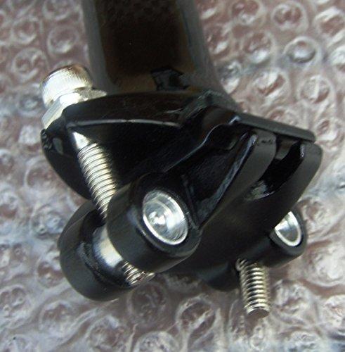 Fahrrad Rennrad MTB Carbon Sattelst/ütze fahrradsitz sattelstange patent sattelst/ütze 31,6//30,8 x 350 mm