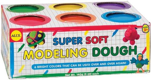 Super Soft Modeling Dough 5 Ounces 1 pcs sku# 1077604MA by ALEX Toys
