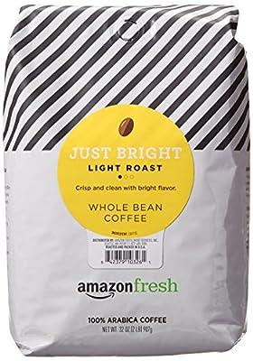 AmazonFresh Just Bright Whole Bean Coffee by AmazonFresh