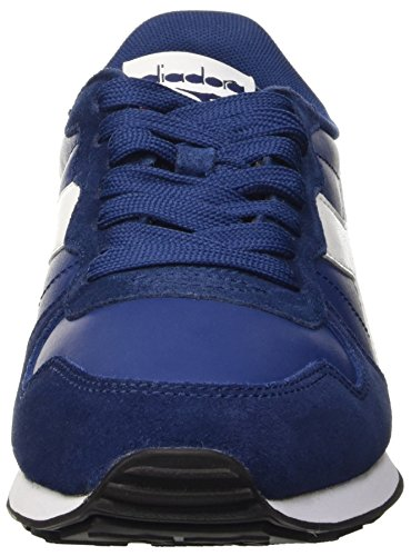 Diadora Herren Camaro Leather Pumps Blu (Blu Estate/Bianco)