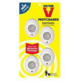 Victor M754 Mini PestChaser Ultrasonic Rodent Repellent, 4-Pack  (not available in HI or NM)