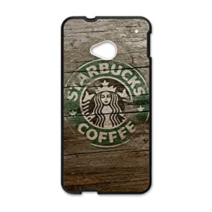 YYYT Starbucks design fashion cell phone case for HTC One M7
