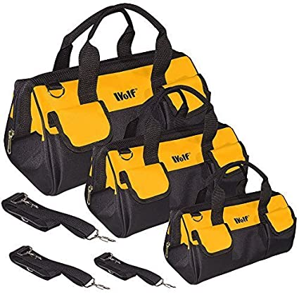 Tool Bag Organiser For Hand Power Tools Large With Internal Pocket Heavy Duty Uk