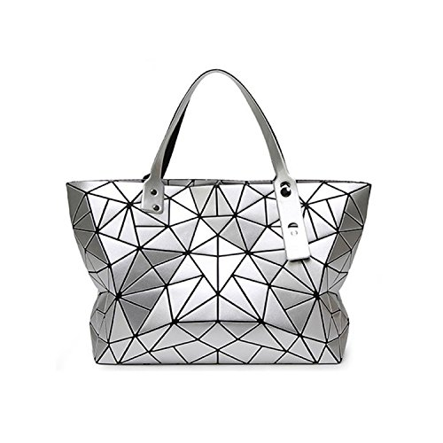 Quilted Large Handbag - 9