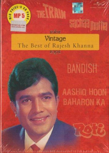 Vintage The Best Of Rajesh Khanna Songs: 5 CD Set