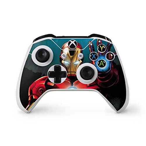 Marvel Ironman Xbox One S Controller Skin - Ironman Vinyl Decal Skin For Your Xbox One S Controller