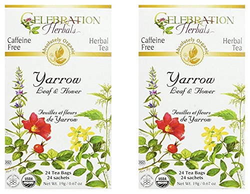 Yarrow Flower Celebration Herbals packs