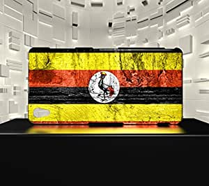 Funda Carcasa para Xpéria Z3 Bandera UGANDA 07