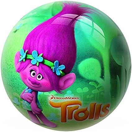 TROLLS Pelota de 23 cm, 230 mm (Mondo 2550): Amazon.es: Juguetes y juegos