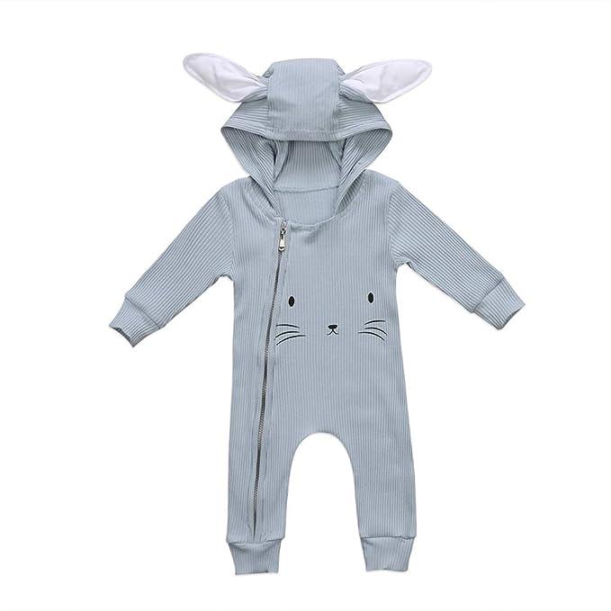 Amazon.com: TTStore - Mono con capucha para bebé, niña, niña ...
