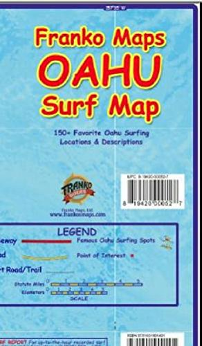 (Oahu Surfing Guide - Franko's Maps)